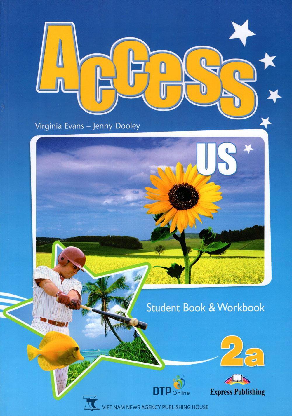 Bìa sách Access US 2A Student