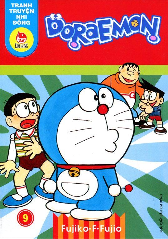 Bìa sách Truyện Tranh Nhi Đồng - Doraemon (Tập 9)