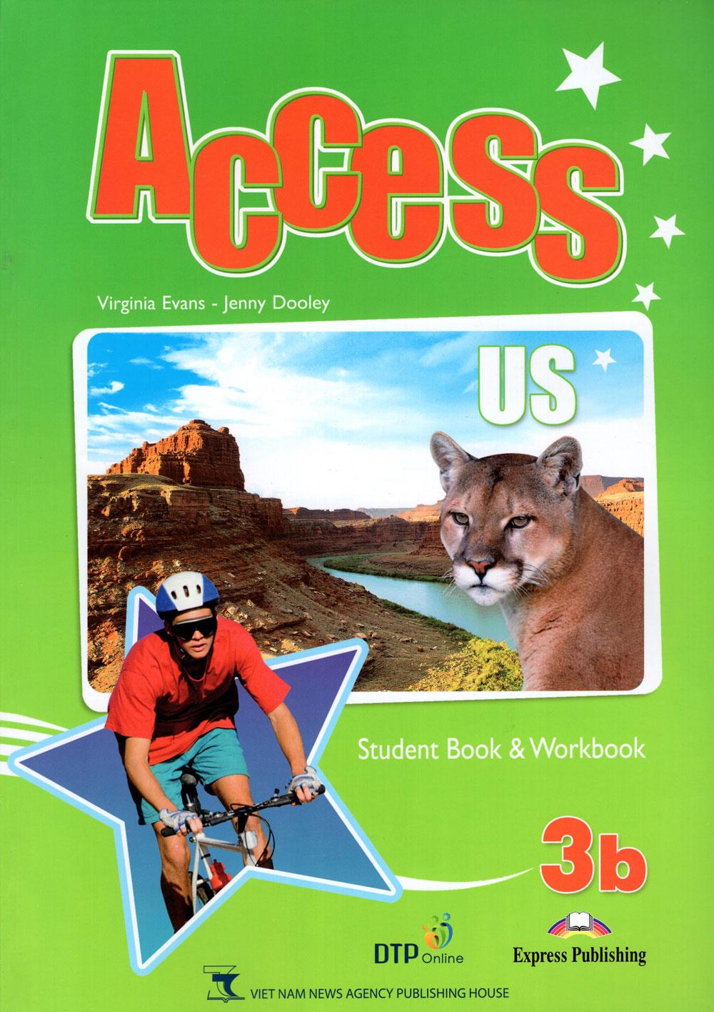 Bìa sách Access US 3B Student