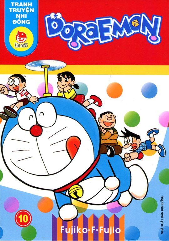 Bìa sách Truyện Tranh Nhi Đồng - Doraemon (Tập 10)