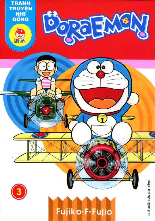 Bìa sách Truyện Tranh Nhi Đồng - Doraemon (Tập 3)