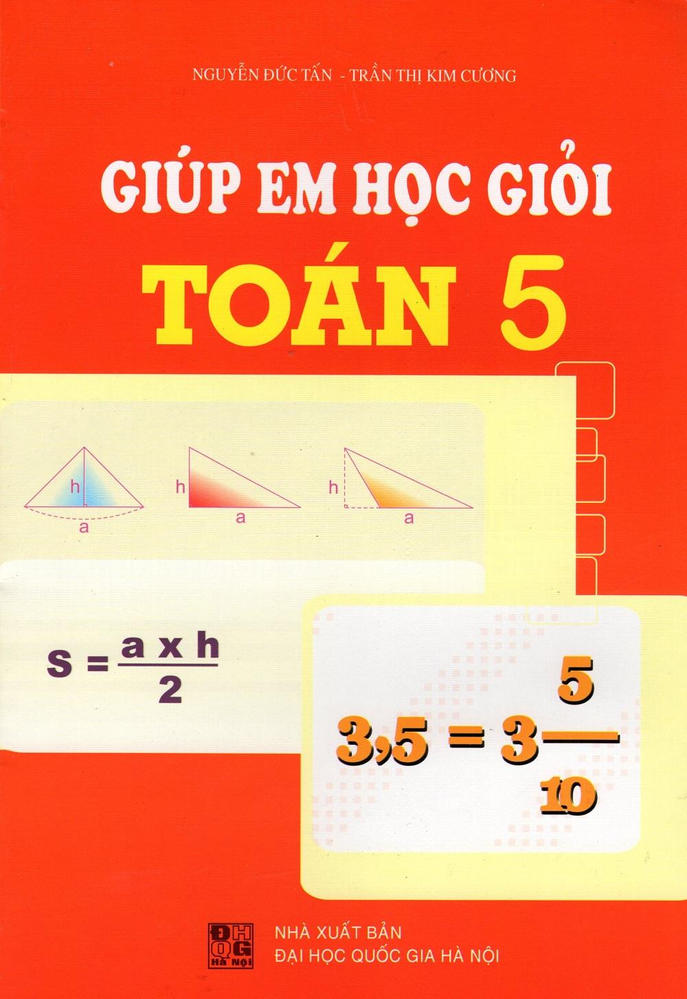 Bìa sách Giúp Em Học Giỏi Toán Lớp 5