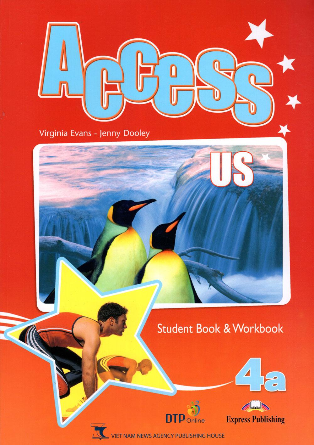 Bìa sách Access US 4A Student