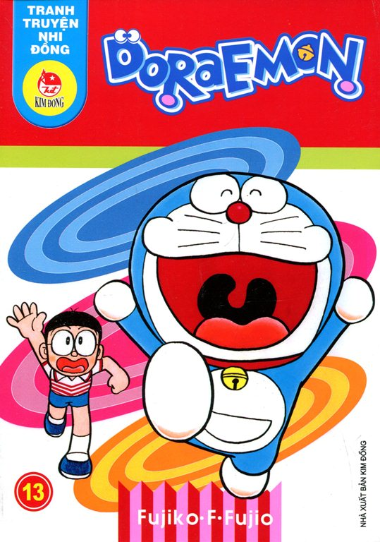 Bìa sách Truyện Tranh Nhi Đồng - Doraemon (Tập 13)