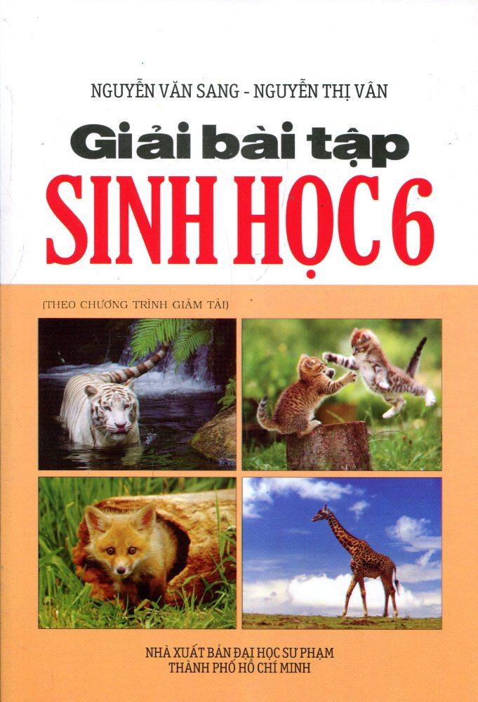 Bìa sách Giải Bài Tập Sinh Học Lớp 6