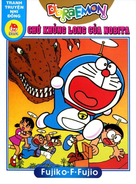 Bìa sách Truyện Tranh Nhi Đồng - Doraemon: Chú Khủng Long Của Nobita