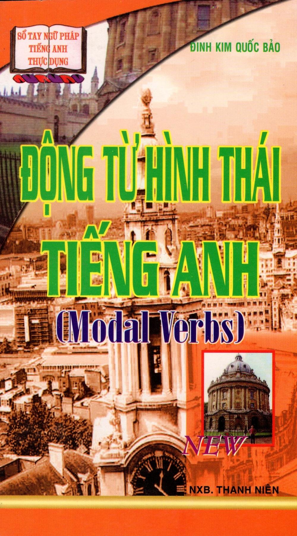 Bìa sách Động Từ Hình Thái Tiếng Anh (Modal Verbs) - Sách Bỏ Túi