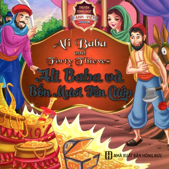 Bìa sách Ali Baba Và Bốn Mươi Tên Cướp (Song Ngữ Anh - Việt)