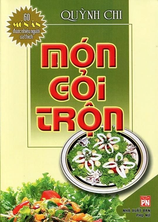 Bìa sách 60 Món Ăn Được Ưa Thích - Món Gỏi Trộn