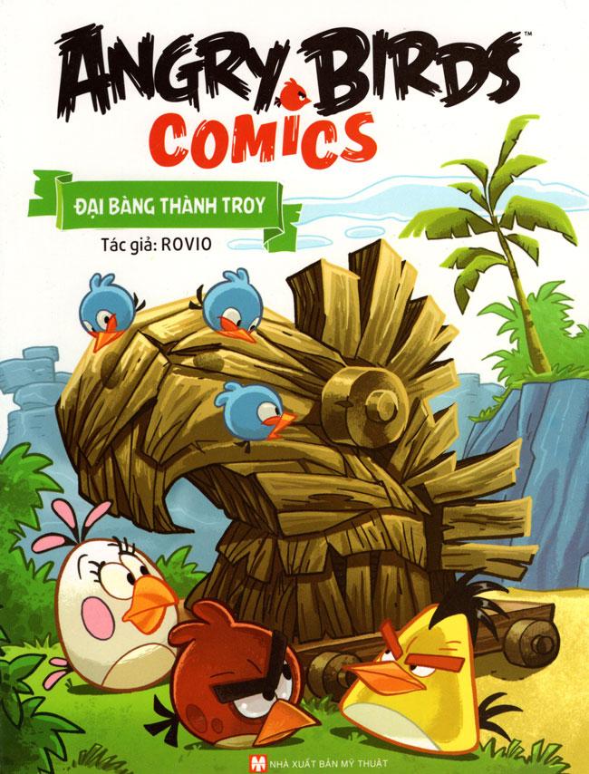 Bìa sách Angry Birds Comics - Đại Bàng Thành Troy