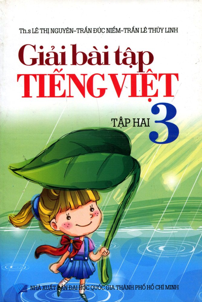 Bìa sách Giải Bài Tập Tiếng Việt Lớp 3 (Tập 2)