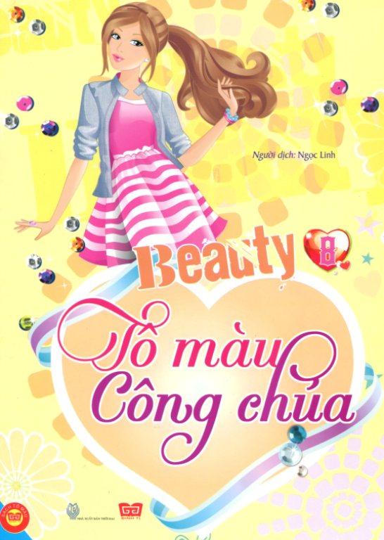 Bìa sách Beauty - Tô Màu Công Chúa (Tập 8)