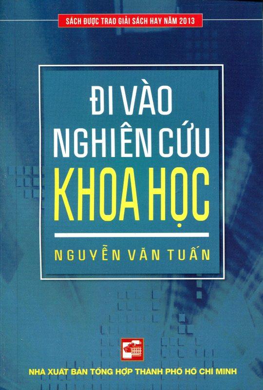 Bìa sách Đi Vào Nghiên Cứu Khoa Học (Tái Bản 2015)