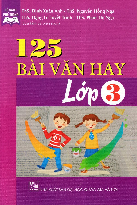 Bìa sách 125 Bài Văn Hay Lớp 3
