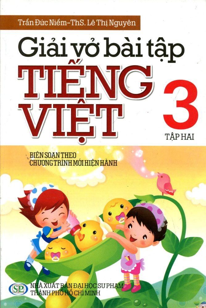 Bìa sách Giải Vở Bài Tập Tiếng Việt Lớp 3 (Tập 2)