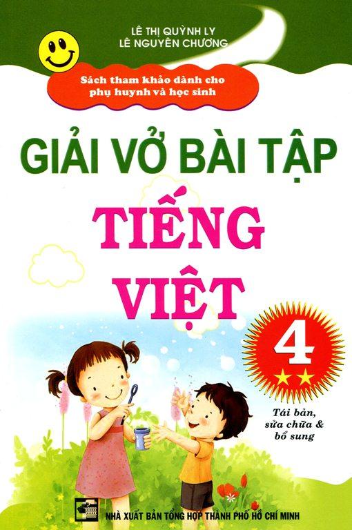 Bìa sách Giải Vở Bài Tập Tiếng Việt Lớp 4 (Tập 2)