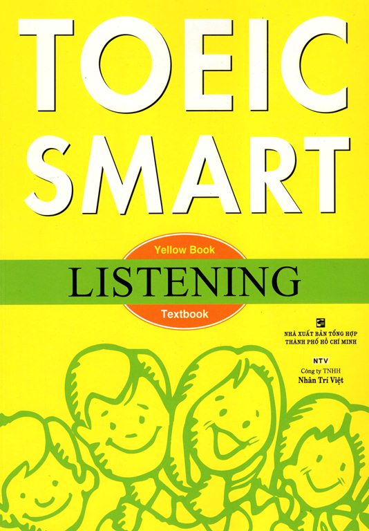 Bìa sách Toeic Smart - Yellow Book Listening (Kèm CD)