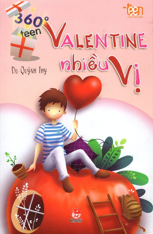 Bìa sách 360 Độ Teen: Valentine Nhiều Vị