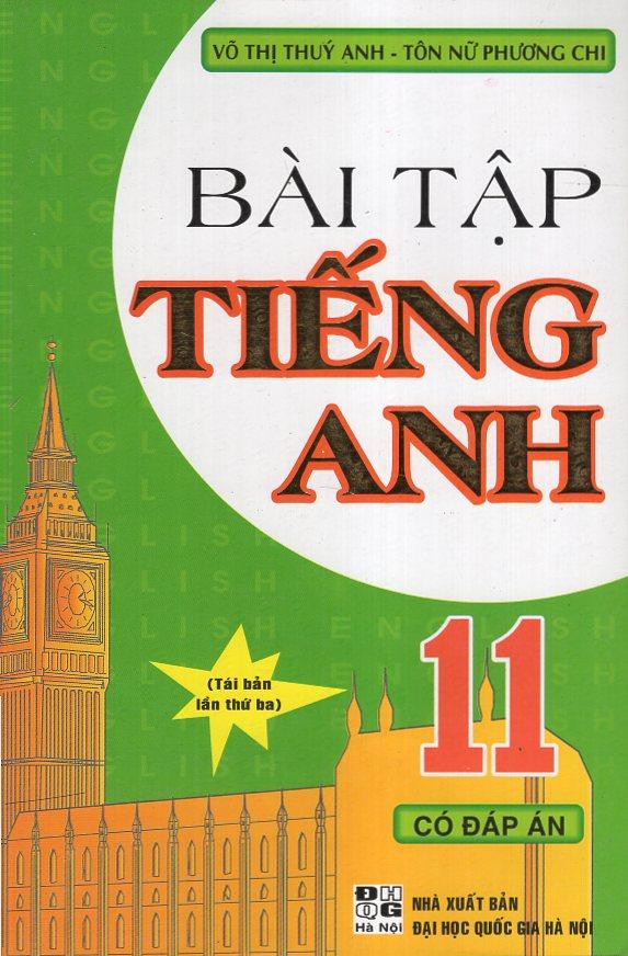 Bìa sách Bài Tập Tiếng Anh 11 Có Đáp Án