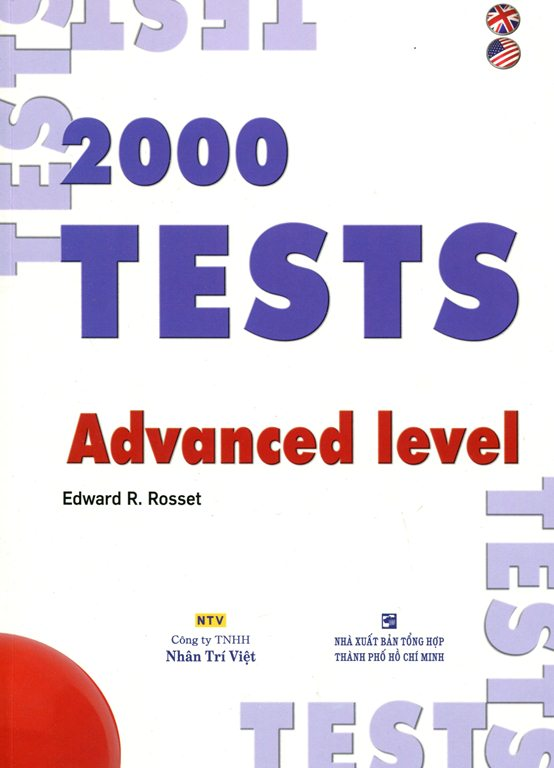 Bìa sách 2000 Tests Advanced Level (Không CD)
