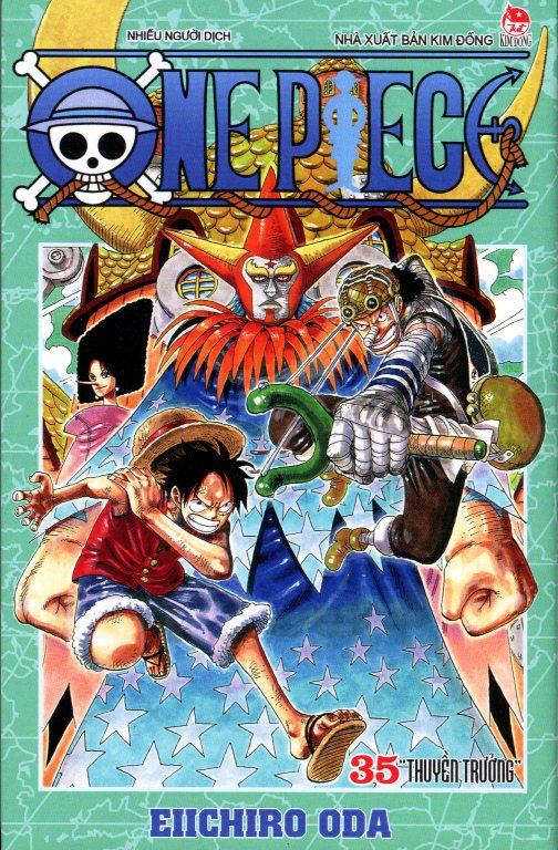 Review sách One Piece (Tập 35)
