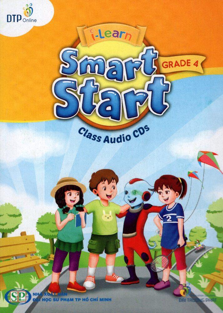 Bìa sách I-Learn Smart Start Grade 4 Class Audio CD (4)