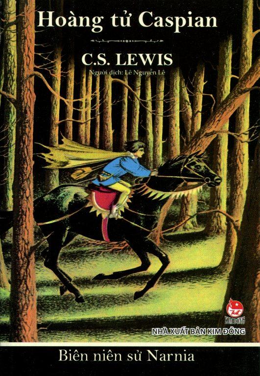 Bìa sách Biên Niên Sử Narnia (Tập 4) - Hoàng Tử Caspian