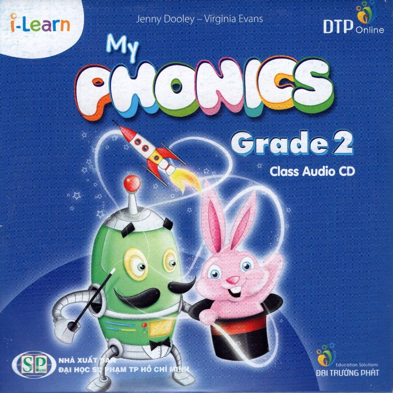 Bìa sách I-Learn My Phonics Grade 2 Class Audio CD (1)