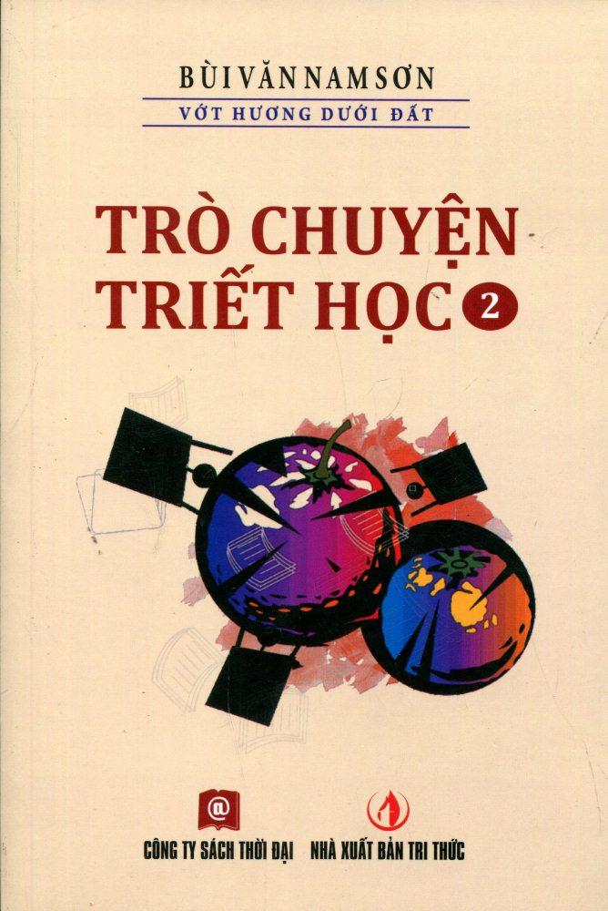 Bìa sách Trò Chuyện Triết Học (Tập 2)