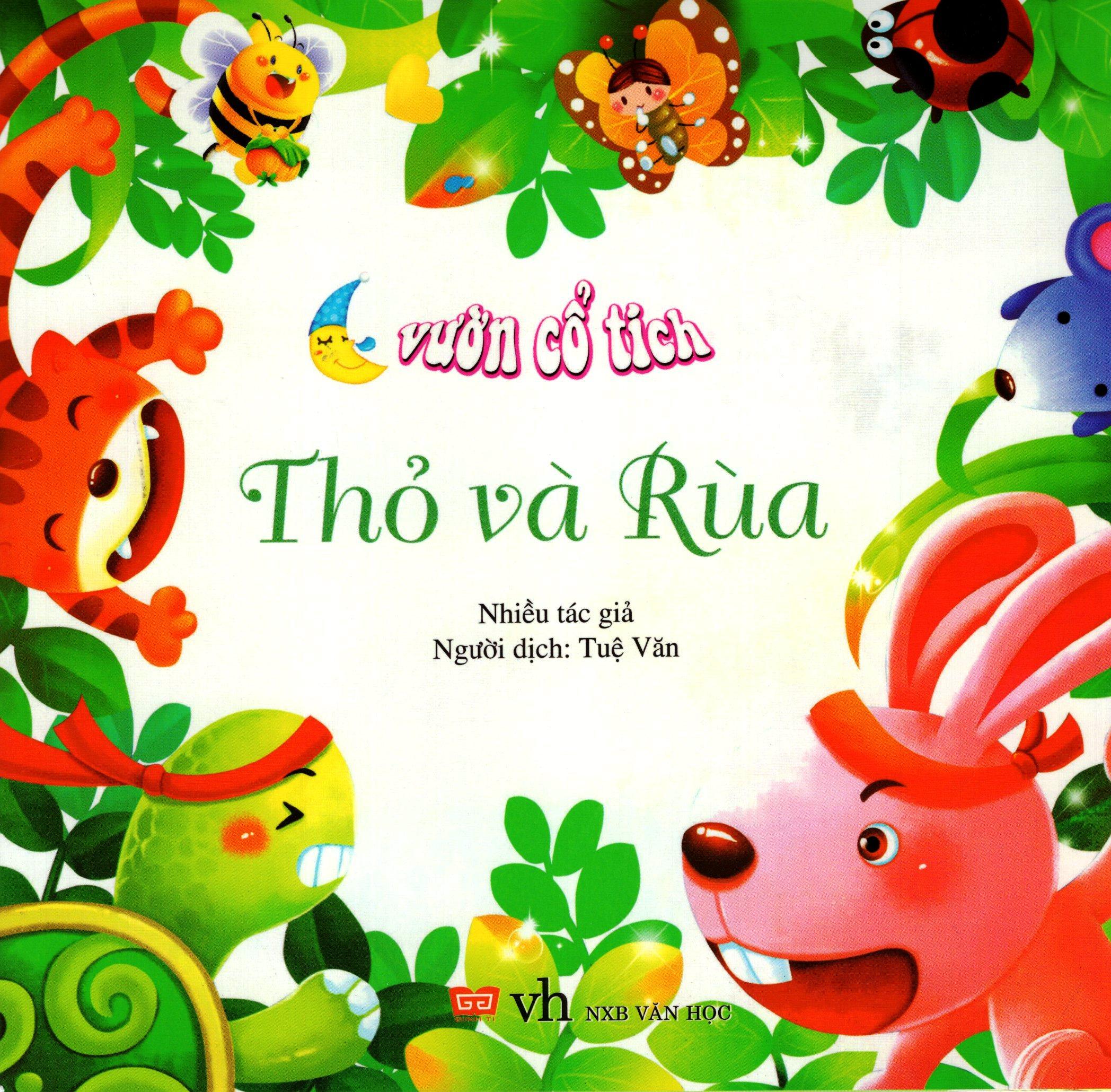 Bìa sách Vườn Cổ Tích - Thỏ Và Rùa