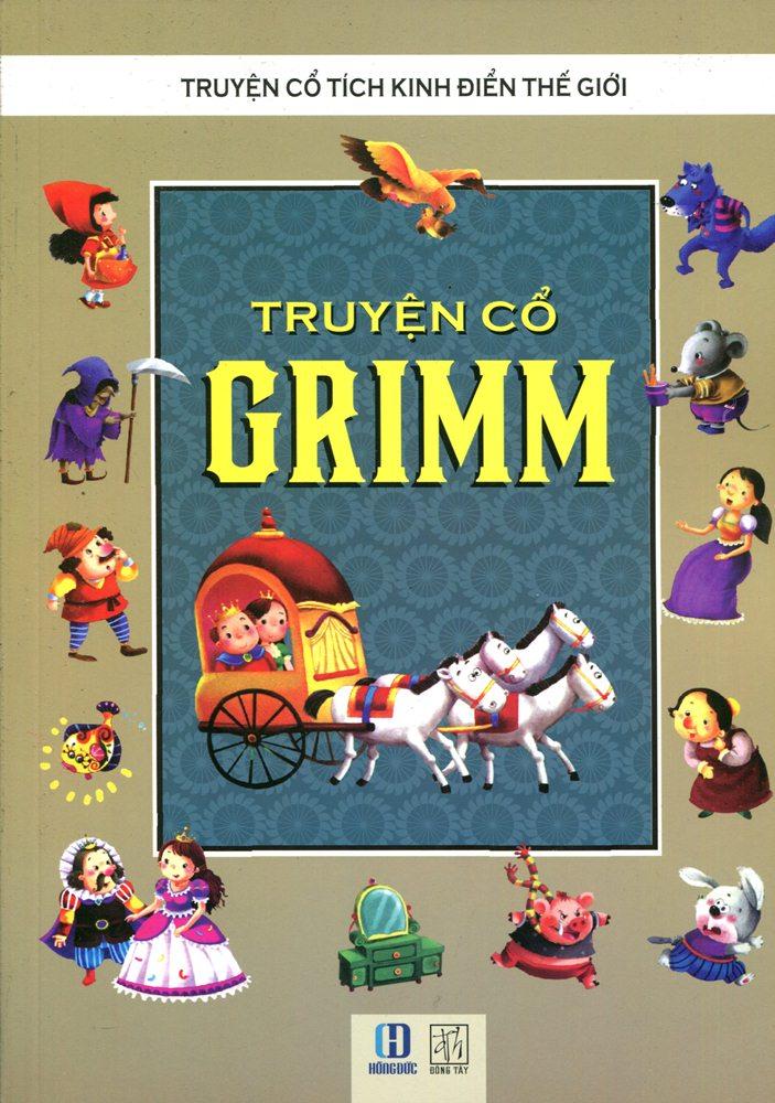 Bìa sách Truyện Cổ Grim (Tranh Màu)