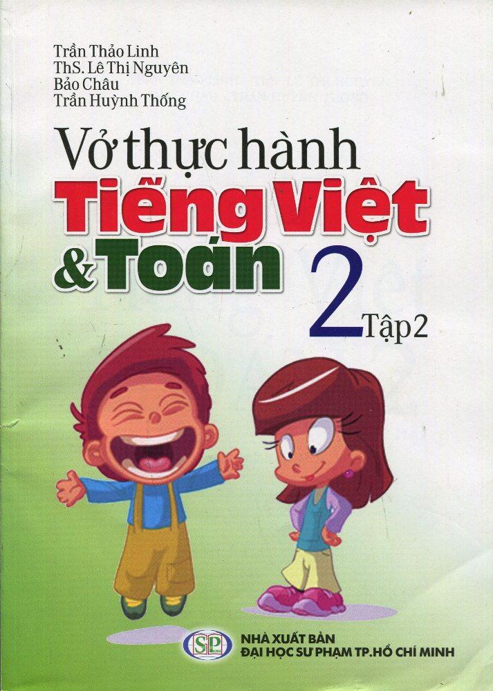 Bìa sách Vở Thực Hành Toán Tiếng Việt Lớp 2 (Tập 2)