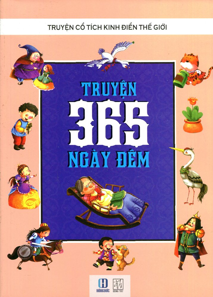 Bìa sách Truyện 365 Ngày Đêm (Tranh Màu)