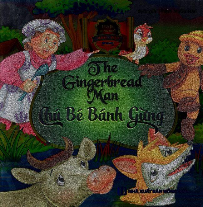 Bìa sách Truyện Song Ngữ Anh - Việt - Chú Bé Bánh Gừng