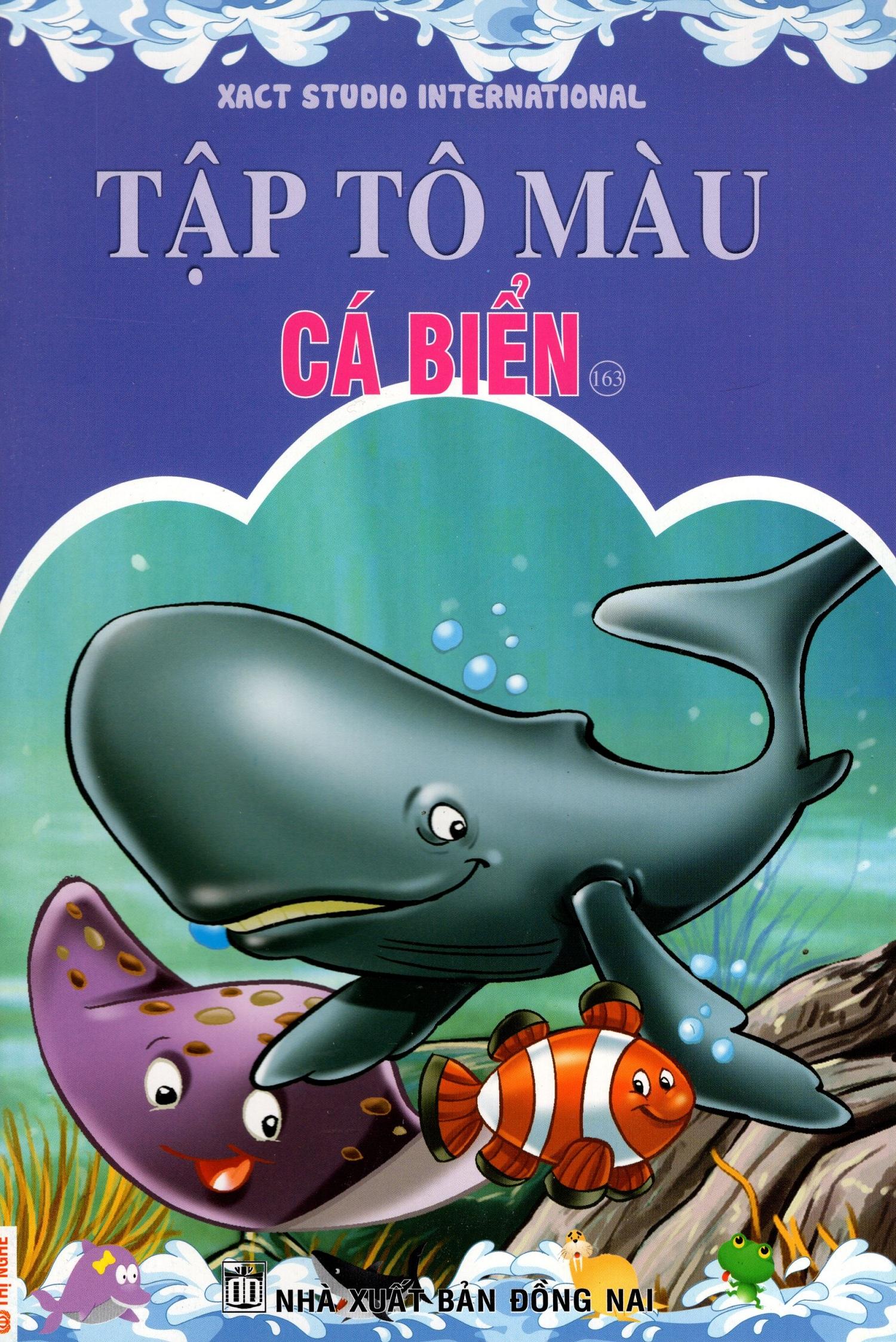 Tập Tô Màu: Cá Biển (Tập 163)