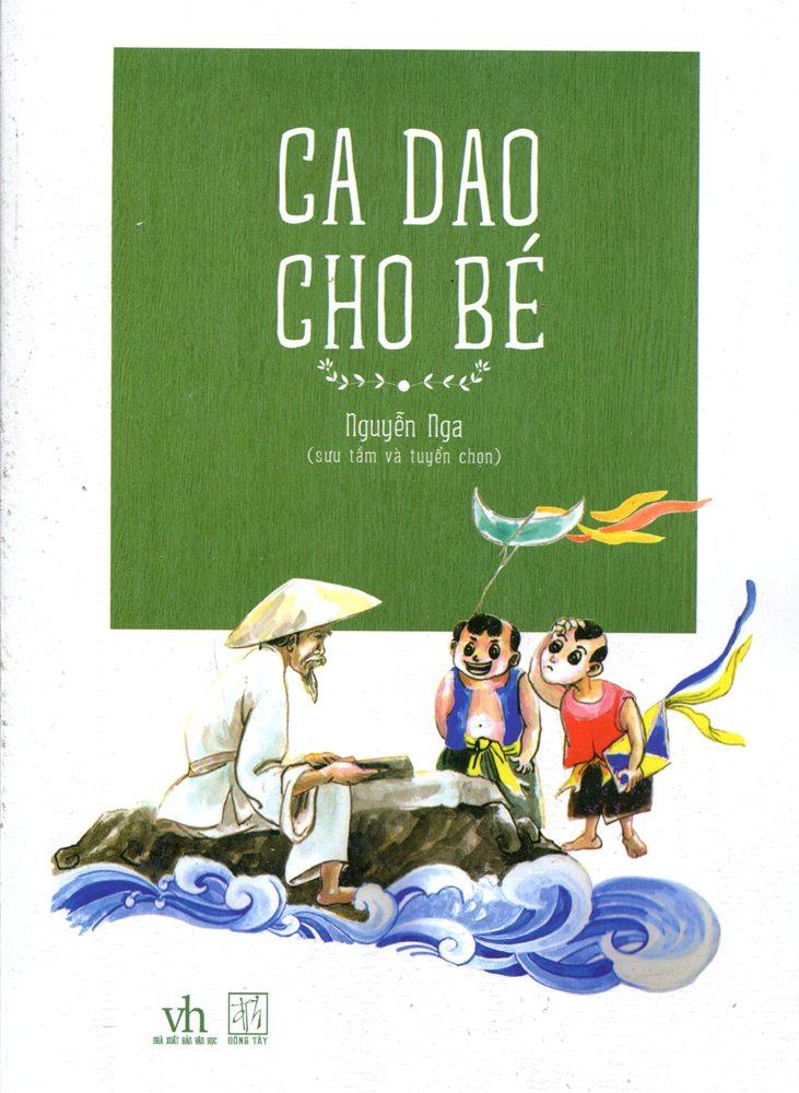 Bìa sách Ca Dao Cho Bé (Tranh Màu)