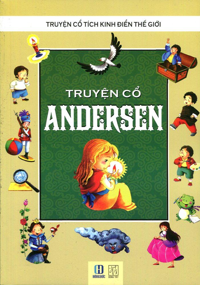 Bìa sách Truyện Cổ Andersen (Tranh Màu)