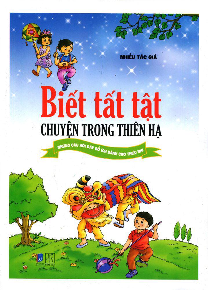 Bìa sách Biết Tất Tật Chuyện Trong Thiên Hạ (Tranh Màu)