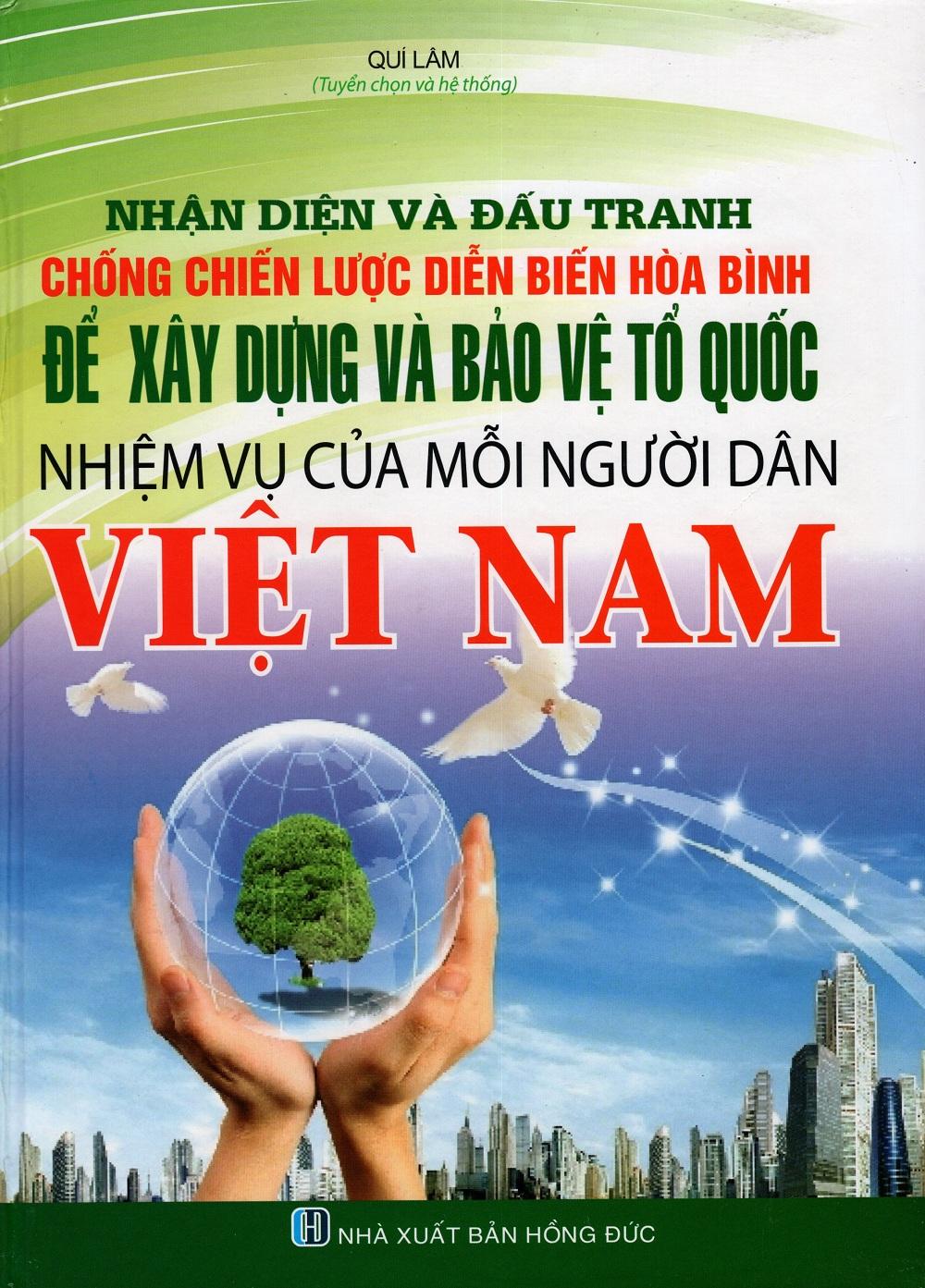 Bìa sách Nhận Diện Và Đấu Tranh Chống Chiến Lược Diễn Biến Hòa Bình Để Xây Dựng Và Bảo Vệ Tổ Quốc - Nhiệm Vụ...