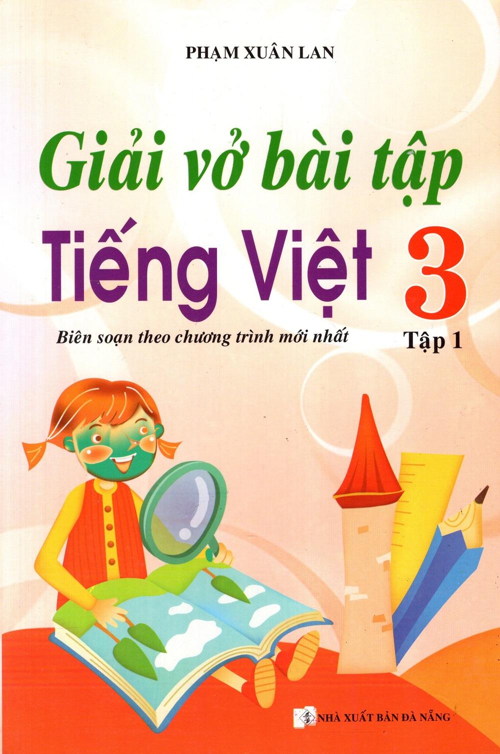 Bìa sách Giải Vở Bài Tập Tiếng Việt Lớp 3 (Tập 1)