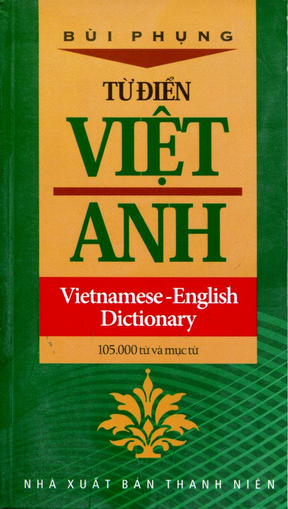 Bìa sách Từ Điển Việt - Anh (105.000 Từ Và Mục Từ)