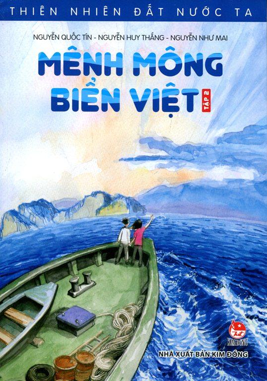 Bìa sách Thiên Nhiên Đất Nước Ta - Mênh Mông Biển Việt (Tập 2)