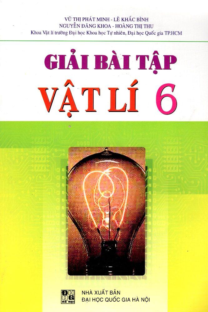 Bìa sách Giải Bài Tập Vật Lí Lớp 6