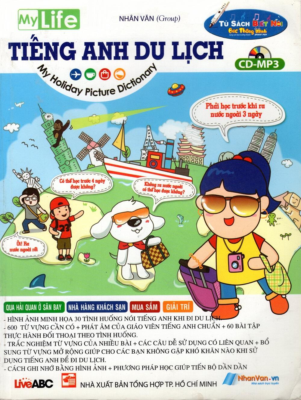 Bìa sách Tiếng Anh Du Lịch (Không CD)