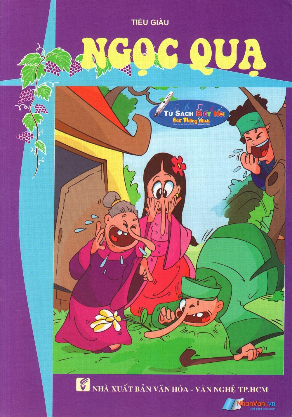 Bìa sách Tủ Sách Biết Nói: Ngọc Quạ