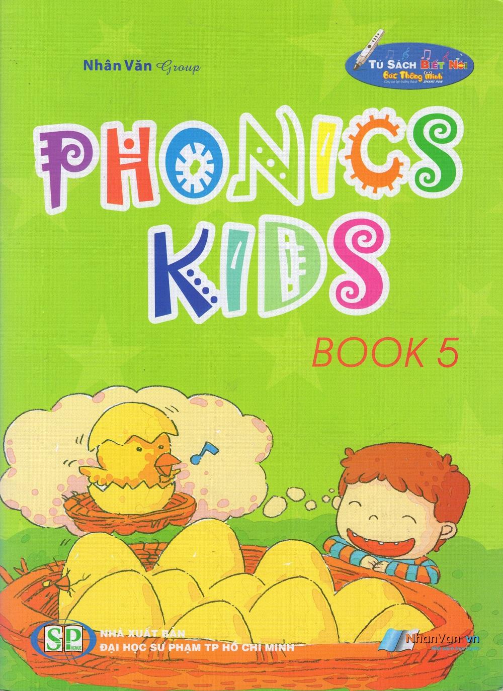 Bìa sách Phonics Kids (Tập 5)