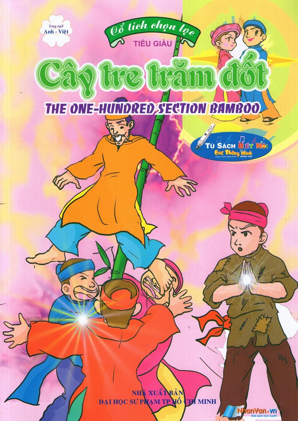 Bìa sách Cổ Tích Chọn Lọc: Cây Tre Trăm Đốt (Song Ngữ Anh - Việt)