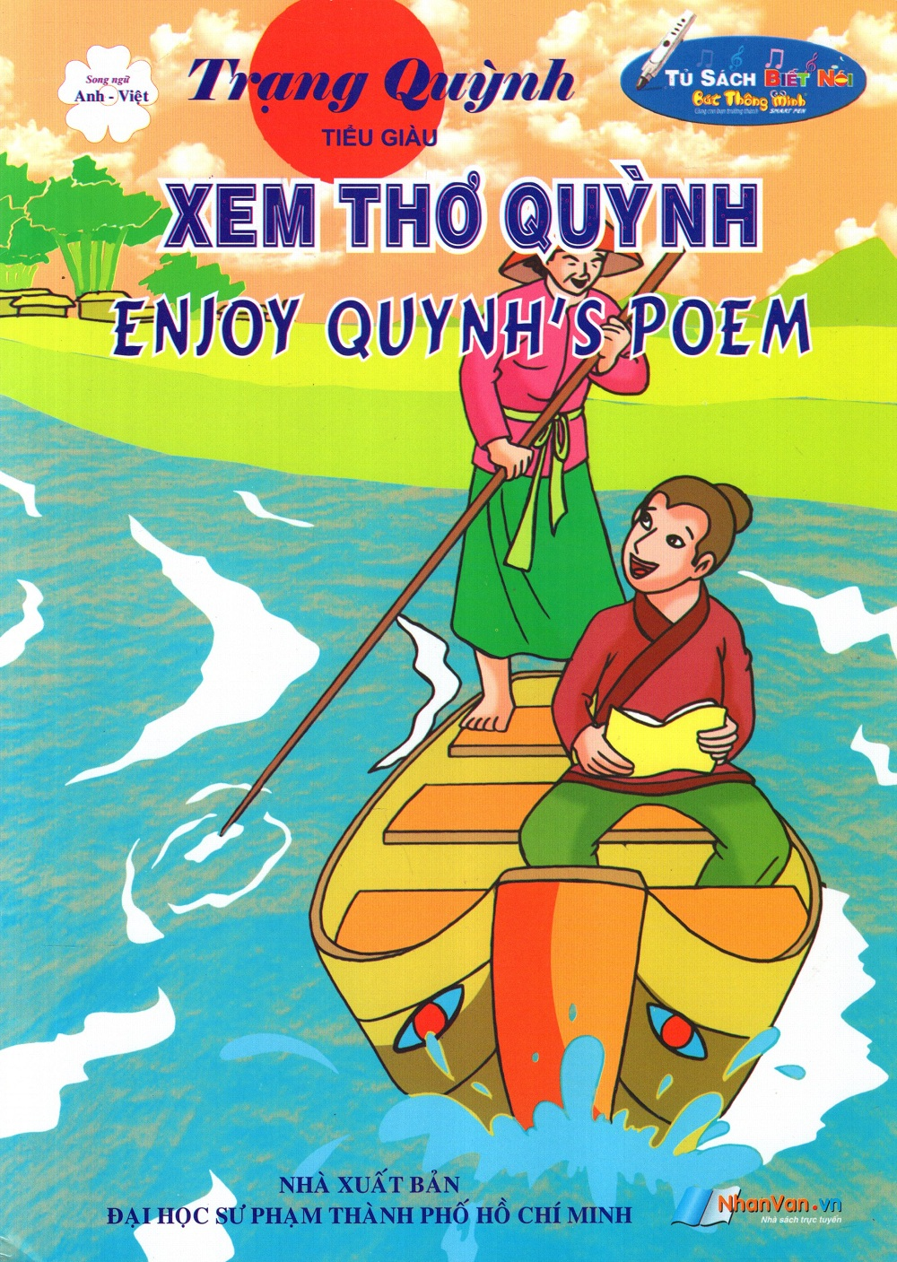 Bìa sách Trạng Quỳnh: Xem Thơ Quỳnh (Song Ngữ Anh - Việt)