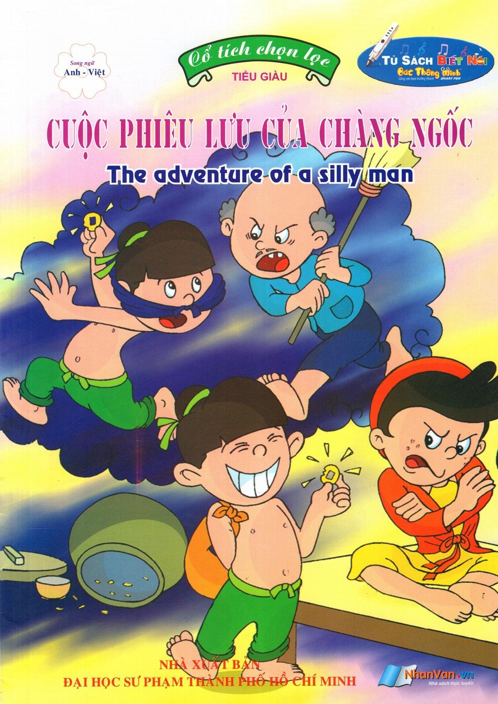 Bìa sách Cổ Tích Chọn Lọc: Cuộc Phiêu Lưu Của Chàng Ngốc (Song Ngữ Anh - Việt)