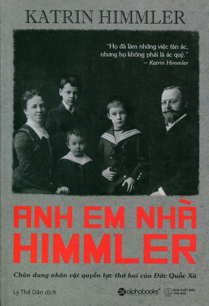 Bìa sách Anh Em Nhà Himmler
